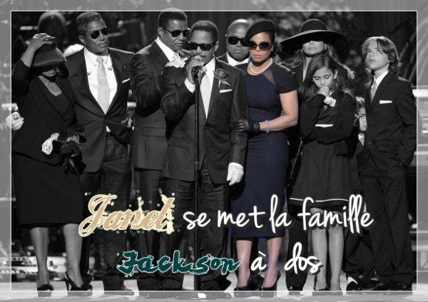 Janet se met la famille Jackson à dos !