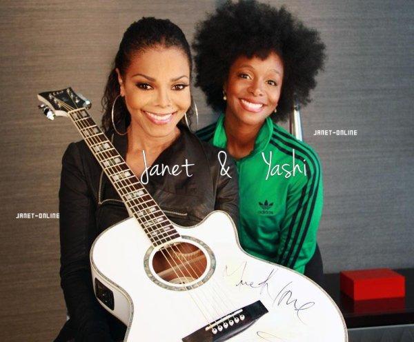 Une nouvelle photo de Jay & sa nièce / Janet juré de X-Factor ? / Janet chez Anderson Cooper