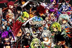 Elsword et ses personnages