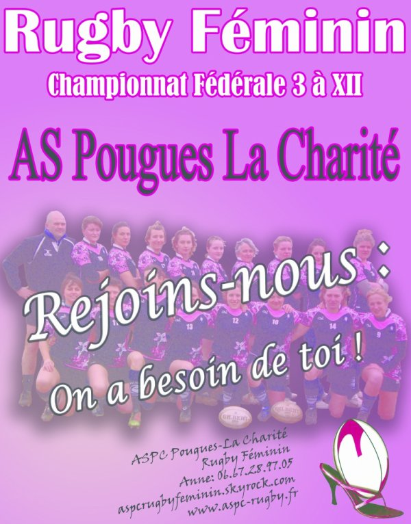 Démarrage du championnat féminin F3 rugby à XII