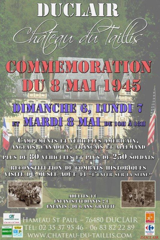 Commémemoration du 8 Mai.