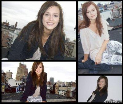 Photoshoot Leighton Meester