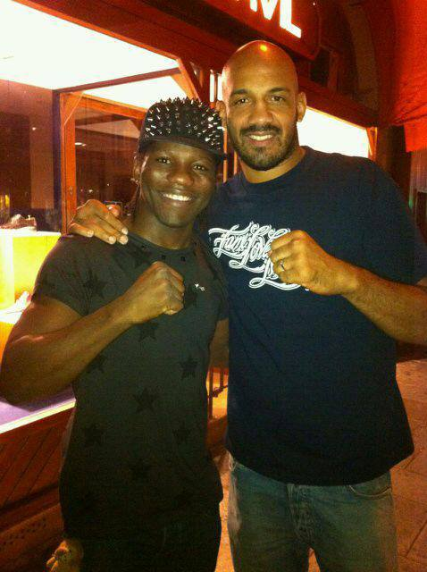 La photo avec Cyrille Diabaté : Champion du Monde MMA