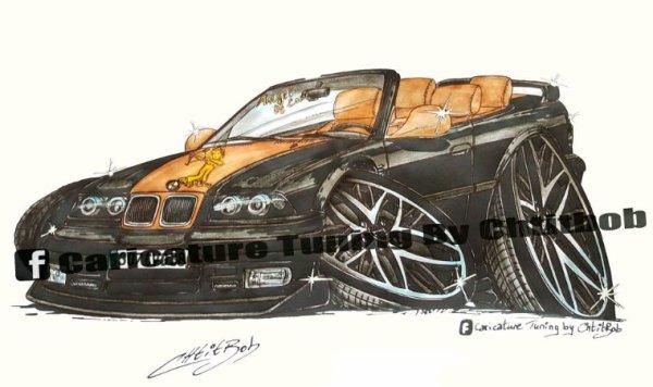 BMW E36 cabriolet Tuning