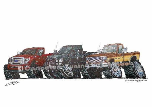Trio de Ford (californie)
