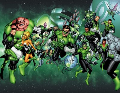 Le corps des Green Lantern (1)