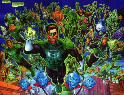 Le corps des Green Lantern (2)