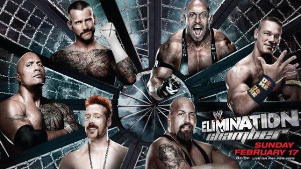 Elimination Chamber 2013 en live !