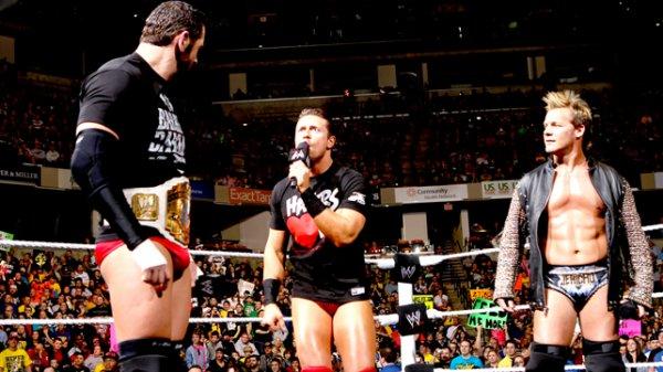 Un match de championnat au prochain RAW !