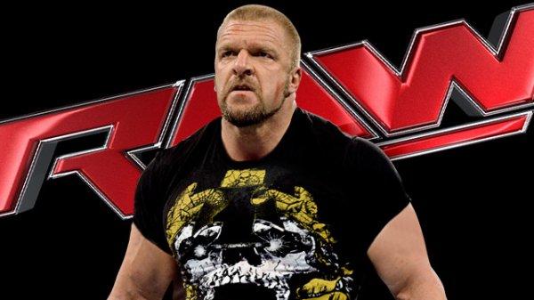 Triple H sera présent à RAW Lundi