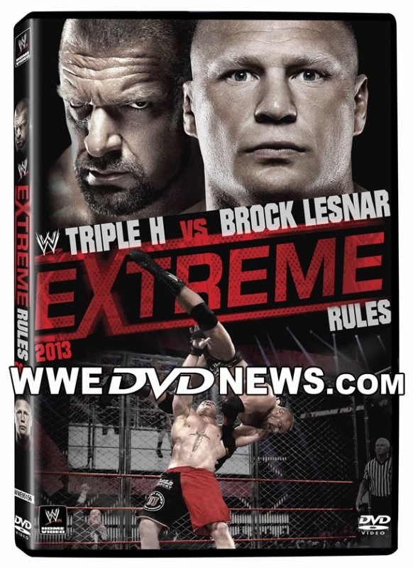 "Couverture du DVD ""WWE Extreme Rules 2013"""