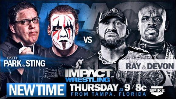 TNA Impact Wrestling du 30/05/13 en live !