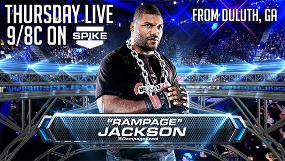 """""""Rampage"""" Jackson annoncé au prochain Impact"""
