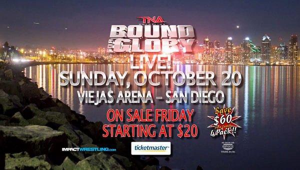 La liste complète des participants pour les Bound for Glory Series (Spoilers)