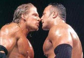 Triple H souhaite un dernier match face à The Rock