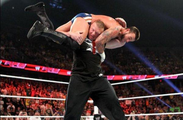 Deux retours lors de RAW !