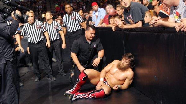 Daniel Bryan blessé à RAW