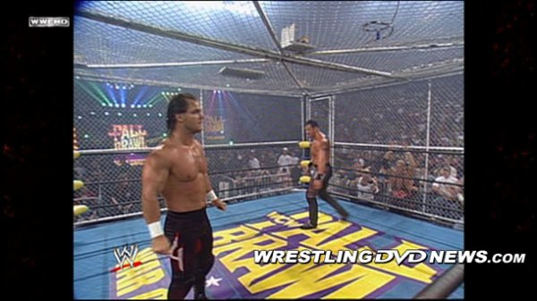 Chris Benoit dans WCW War Games DVD