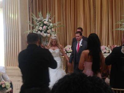 Photos du mariage de Natalya et Tyson Kidd