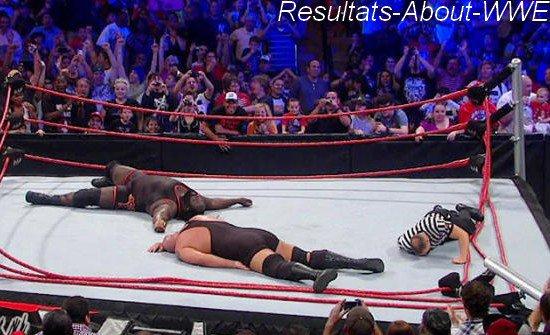 Resultat de WWE Vengence