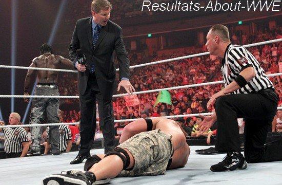 Resultat de WWE Raw