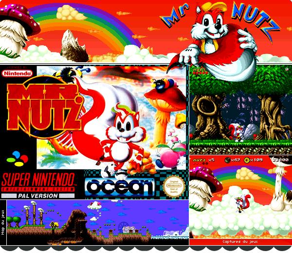 Super Nintendo : Mr.Nutz