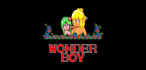 Megadrive : Wonder Boy