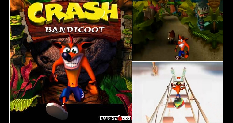 Playstation 1 : Crash Bandicoot 1