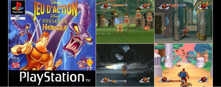 Playstation 1 : Hercule