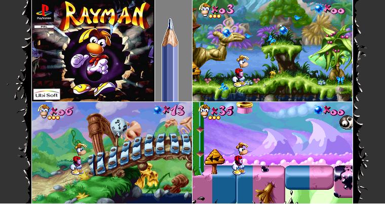 Playstation 1 : Rayman