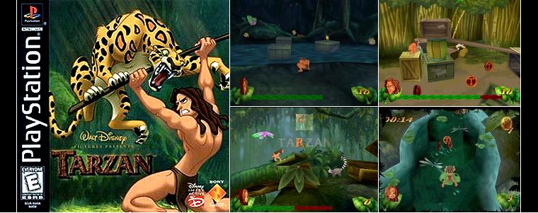 Playstation 1 : Tarzan