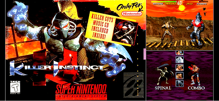 Super nintendo : Killer Instinct