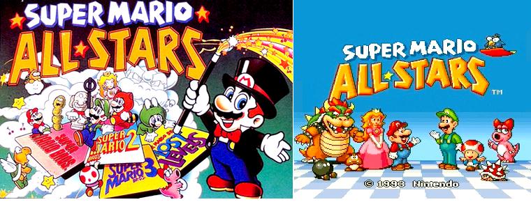 Super nintendo : Super Mario All Stars + Super Mario World