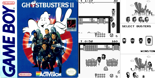 Game Boy : Ghostbusters 2
