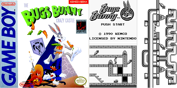 Game Boy : Bugs Bunny Crazy Castle