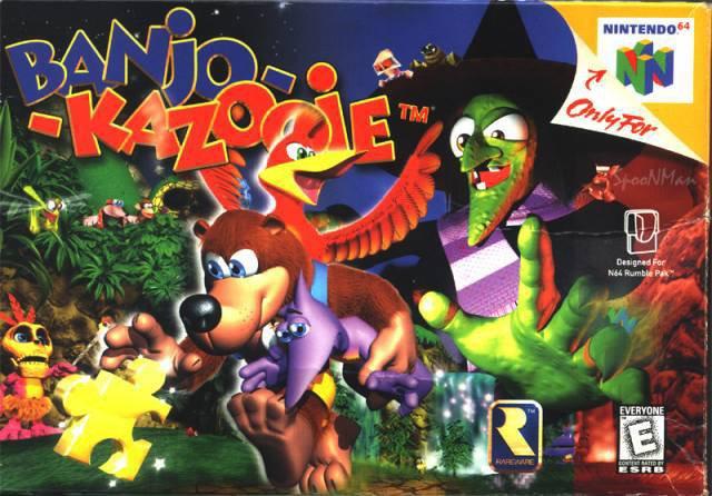 Nintendo64 : Banjo-Kazooie
