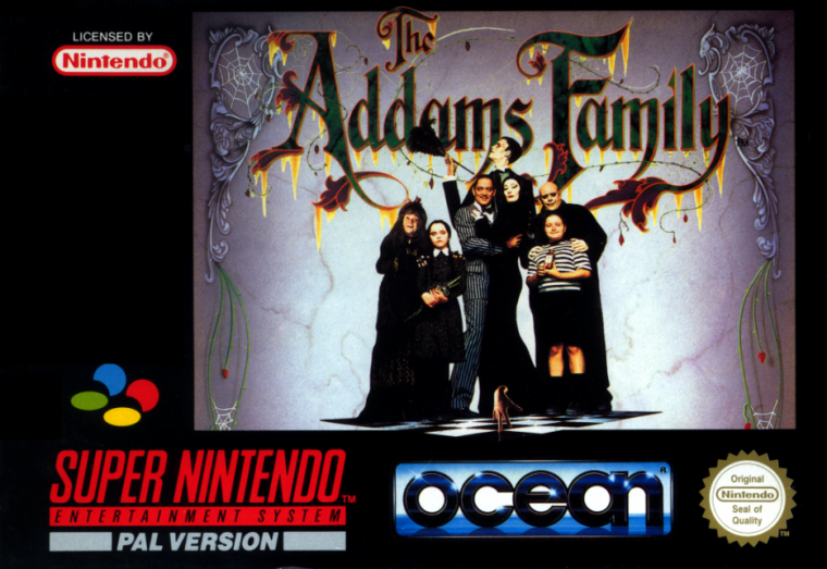 Super Nintendo : The Addams Family
