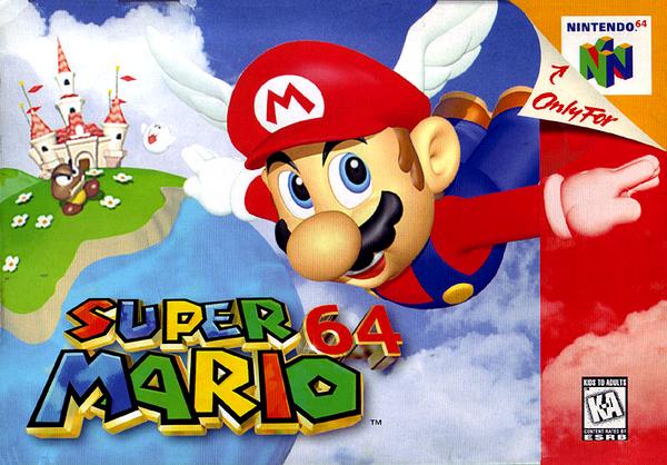 Nintendo64 : Super Mario 64