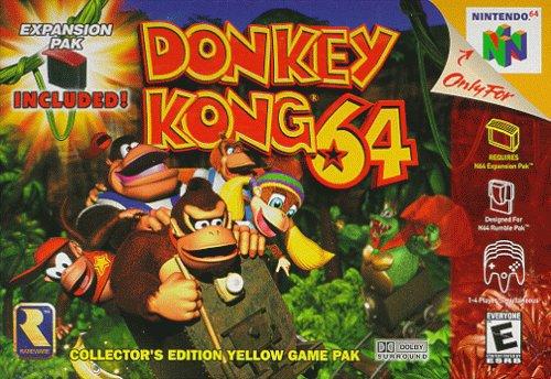 Nintendo64 : Donkey kong 64