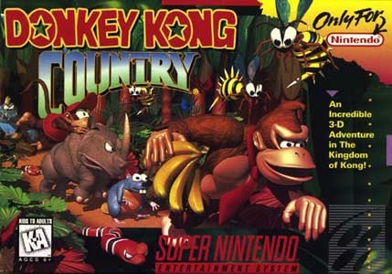 Super Nintendo : Donkey Kong Country 1