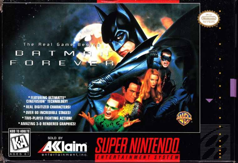 Super Nintendo : Batman Forever