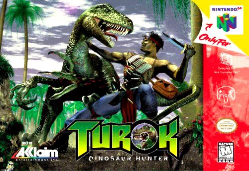 Nintendo64 : Turok Dinosaur Hunter