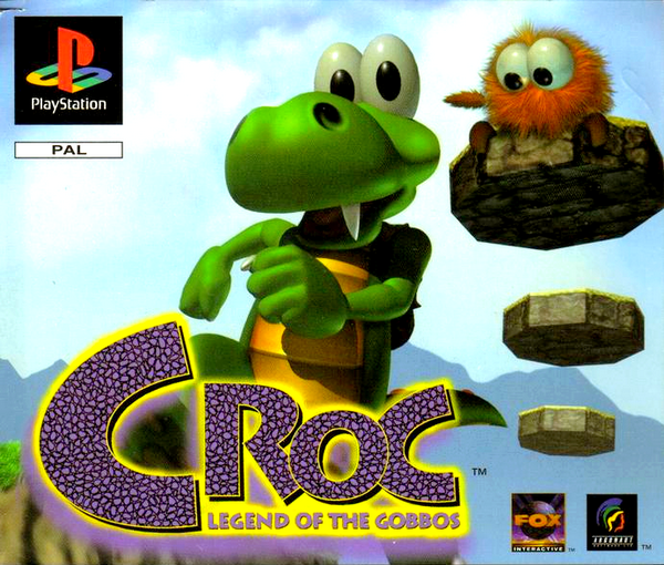 Plastation 1 : Croc Legend of the gobbos