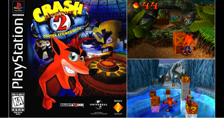 Playstation 1 : Crash Bandicoot 2