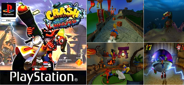 Playstation 1 : Crash Bandicoot 3