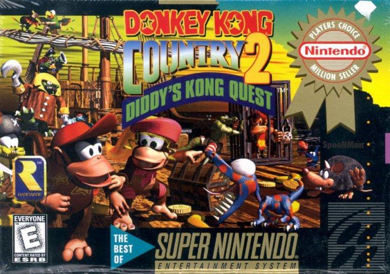 Super Nintendo : Donkey Kong Country 2