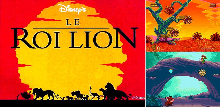 MegaDrive : Le Roi Lion