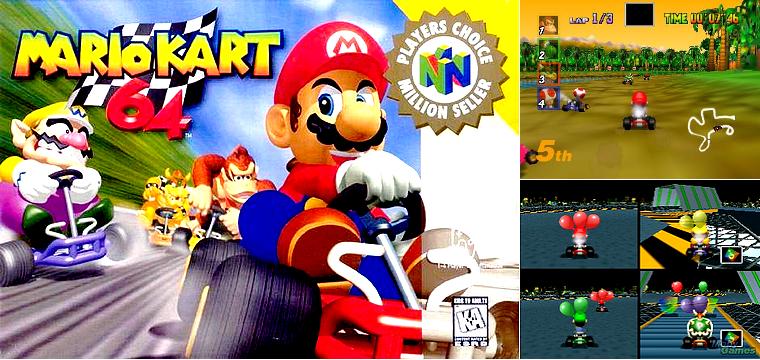 Nintendo64 : Mario Kart 64