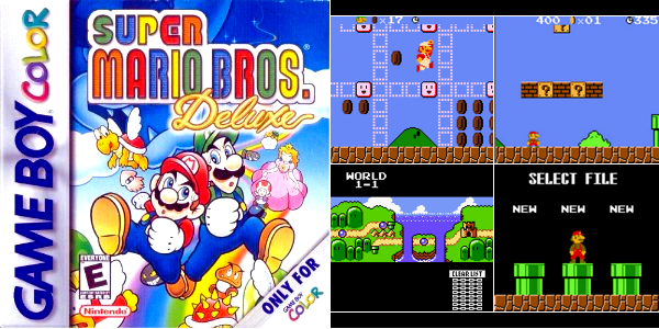 Game Boy Color : Super Mario Bros Deluxe
