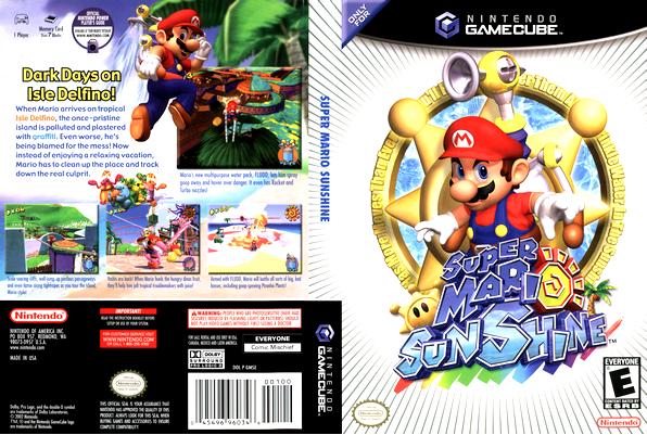 GameCube : Super Mario Sunshine